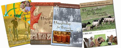 Homesteading for Beginners Complete Set