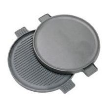 "Cast Iron: 14"" Reversible Round Griddle"