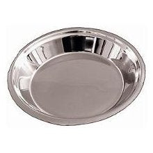 Stainless Steel:  Pie Pan