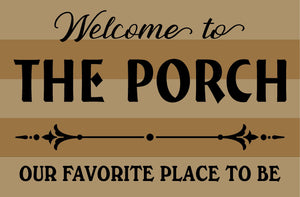The Porch - Favorite Place