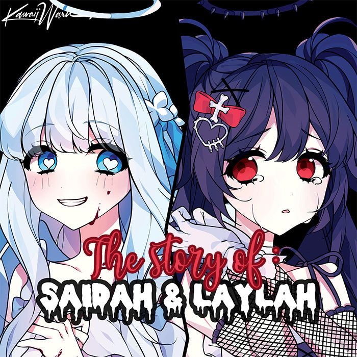 Saidah and Laylah the angel twins