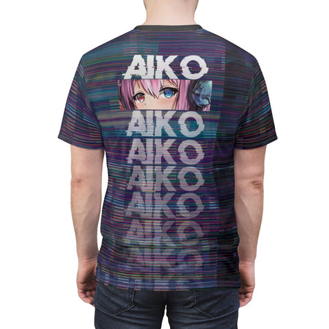 Image of Aiko Unisex AOP Cut & Sew Tee