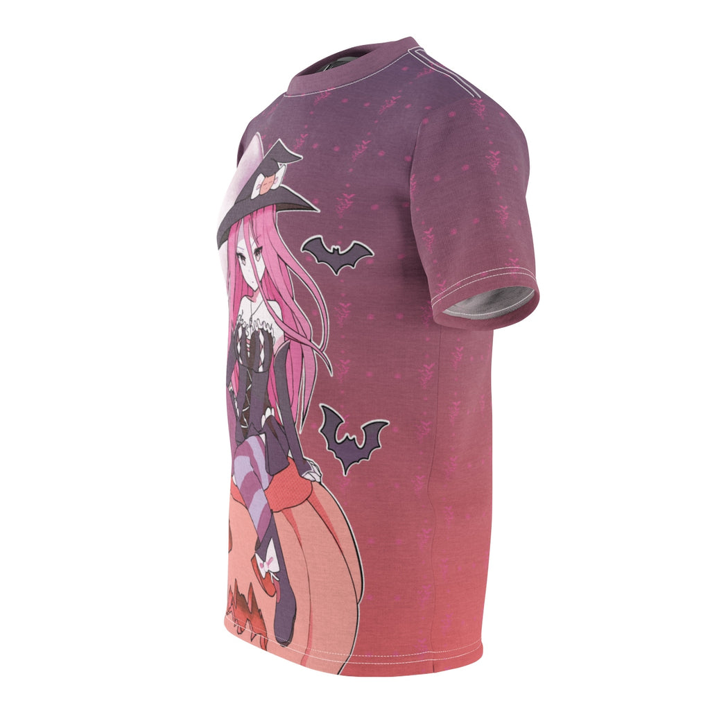 Yuuki Kawaii Witch Cute Anime Girl Unisex AOP Cut & Sew T-shirt