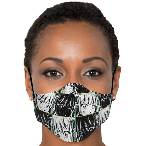 Image of Kandi 2 Cute Yandere Anime Girl Face Mask