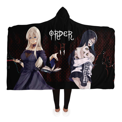 Image of Hikari x Sehen H order Hooded Blanket