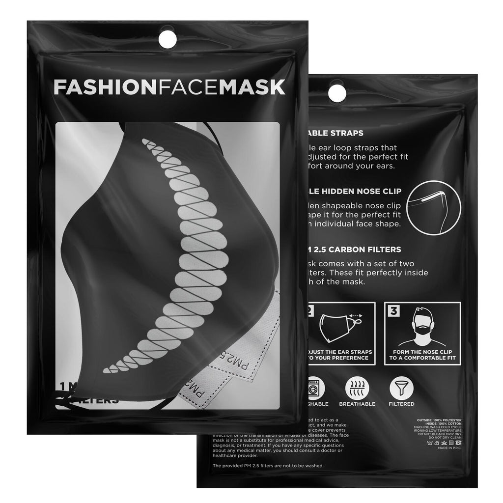 Creepy Smile Anime Face Mask