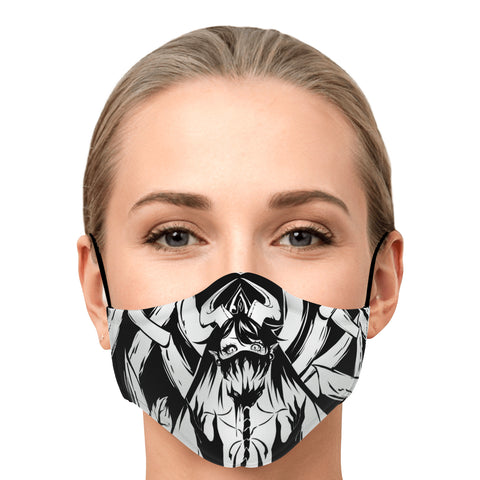 Image of Voido Gothic anime face Mask