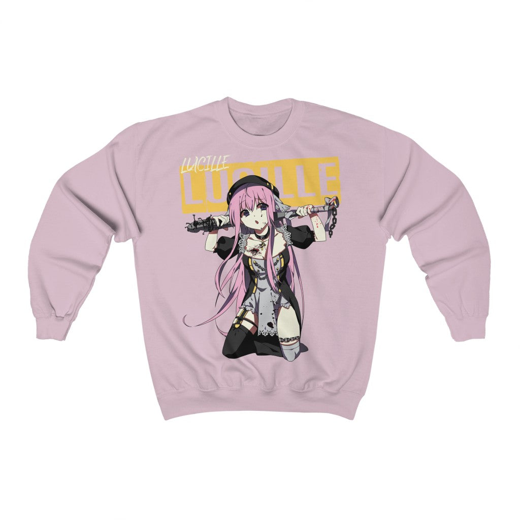 Lucille V2 Sexy Bad Anime Nun Sweatshirt