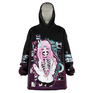 Maaya XP Creepy Cute anime Snug Hoodie
