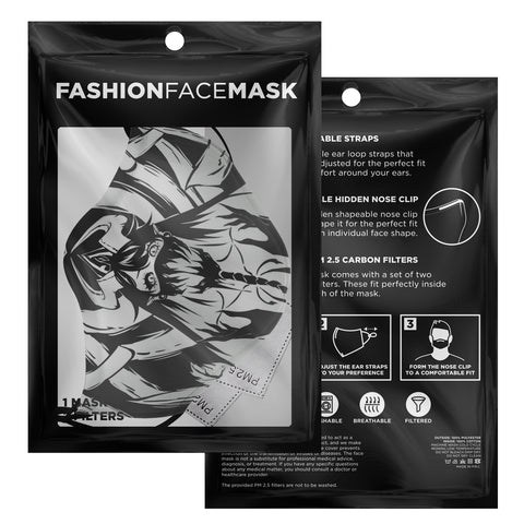 Voido Gothic anime face Mask