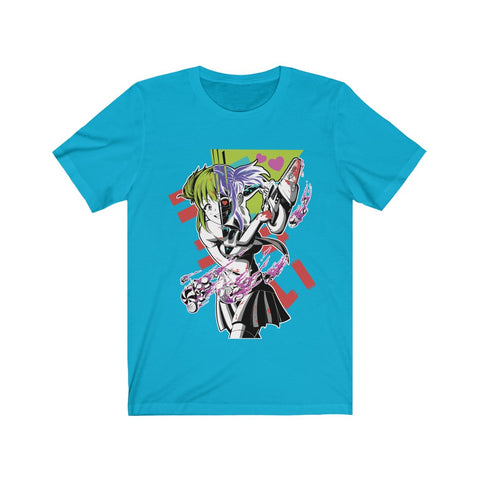 Image of Kandi Cute Yandere Anime Girl Unisex T-shirt