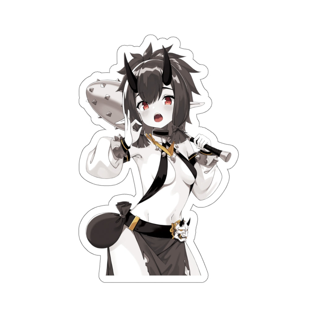 Katarina B&W Anime Manga Kiss-Cut Stickers