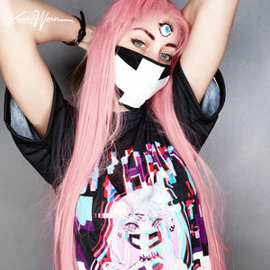 Maaya Creepy Cute anime Unisex AOP Cut & Sew T-shirt