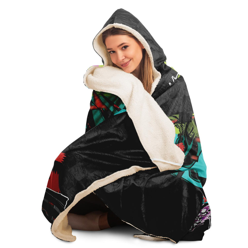 Kandi Hooded Blanket