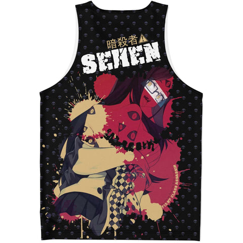 Image of Sehen Crazy waifu Unisex Tank Top