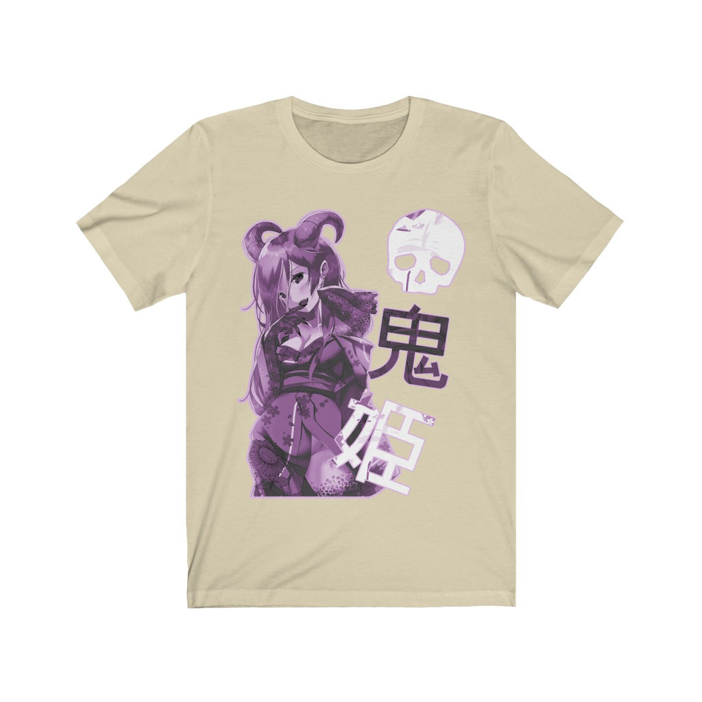 Purple Oni-Hime Hentai Demon Kawaii Anime Girl Unisex T-shirt