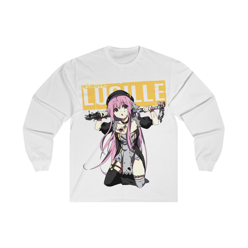 Lucille V2 Sexy Bad Anime Nun Unisex Long Sleeve Tee