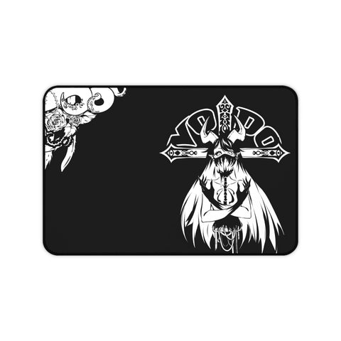 Image of Voido gothic anime waifu Large Mouse Pad Desk Mat