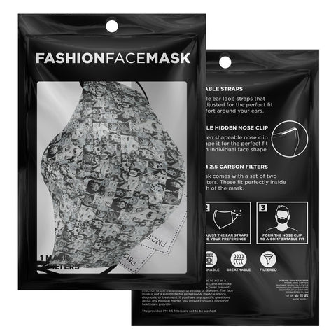 Sexy Ahegao Hentai Camouflage Anime Face Mask