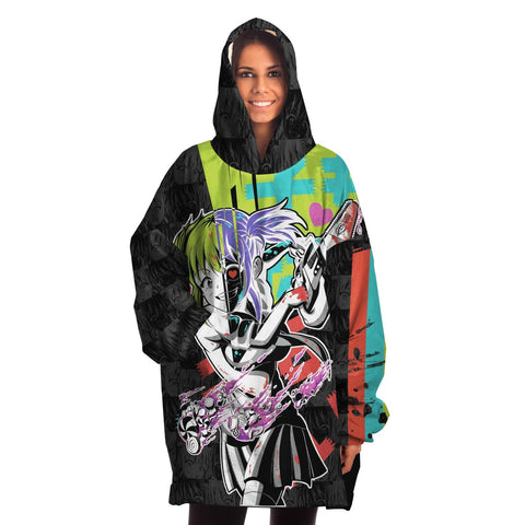 Image of Kandi Cute Yandere Anime Girl Snug Hoodie