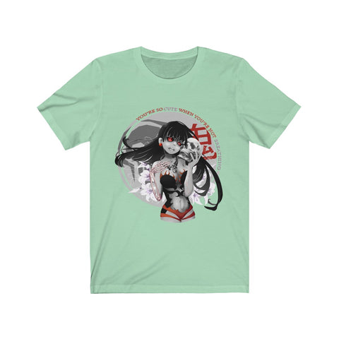 Image of Ahmya 1.2 Unisex T-shirt | You're so cute when you're not breathing