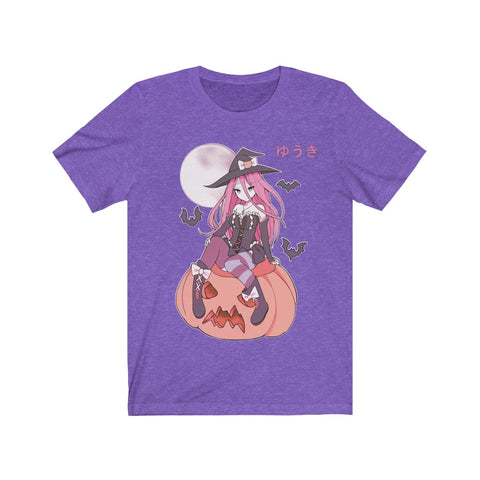 Yuuki Kawaii Witch Cute Anime Girl Unisex T-shirt