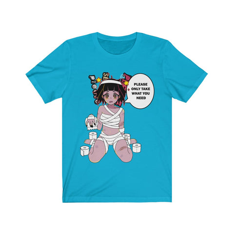 Image of Toilet Paper Chan Unisex T-shirt