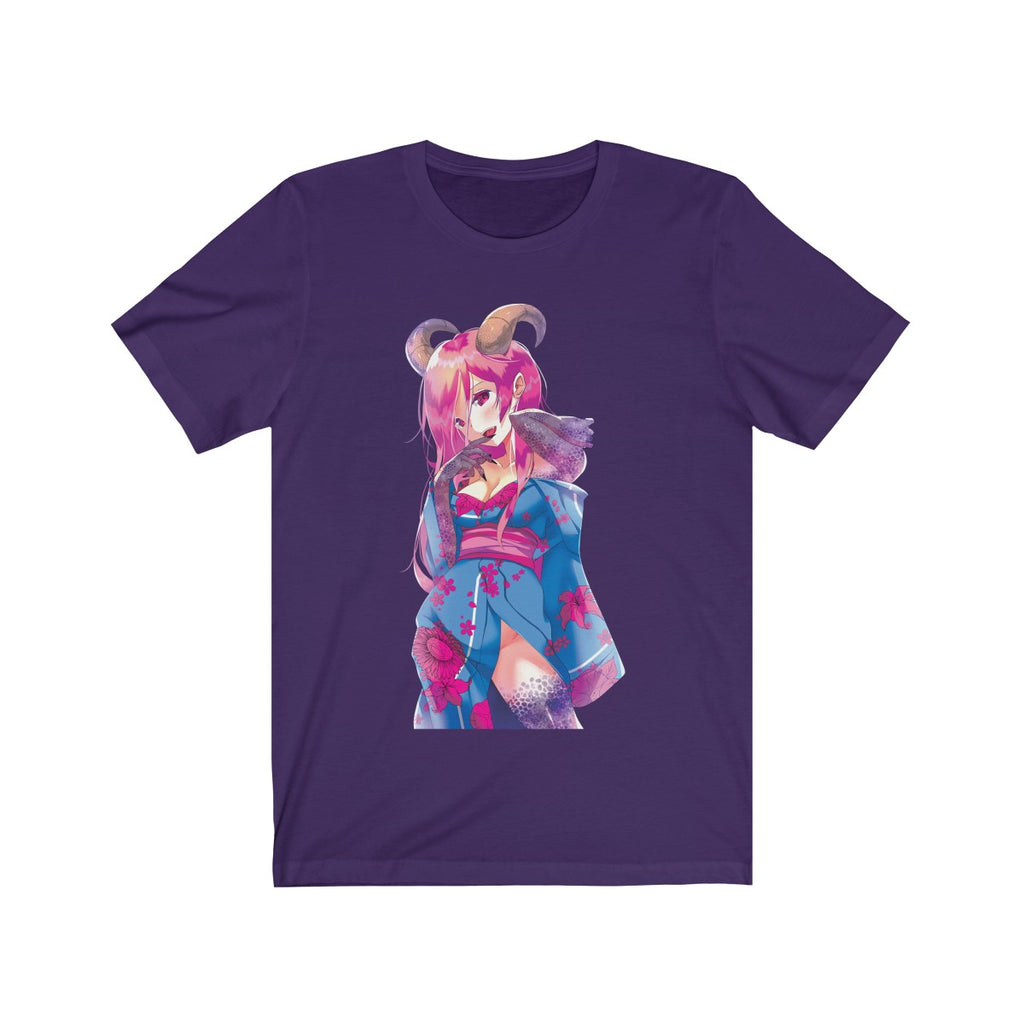 Oni-Hime Hentai Demon Kawaii Anime Girl Unisex T-shirt
