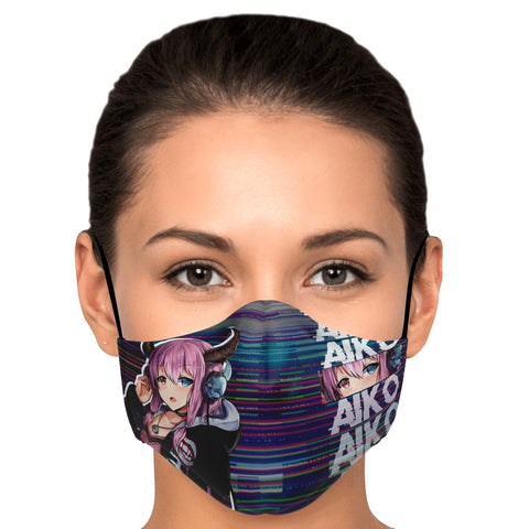 Aiko Anime Face Mask