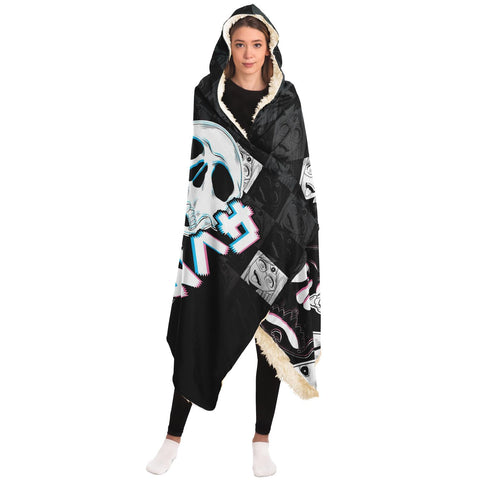 Sehen Hooded Blanket