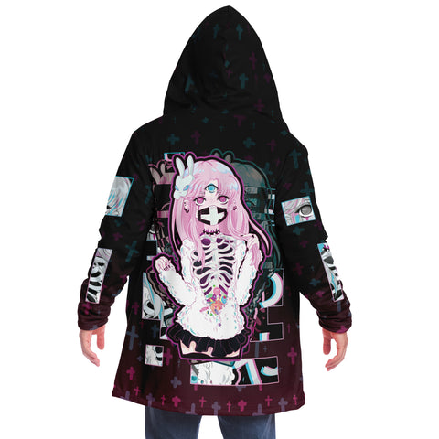 Maaya Creepy Cute Anime Girl Cloak