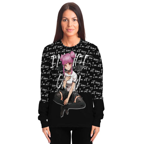 Image of Budo Transformation Gothic sad anime Unisex AOP Sweatshirt