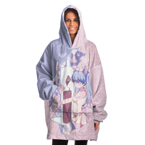 Image of Shizuka Kawaii Anime Nurse - Creepy Cute - Snug Hoodie