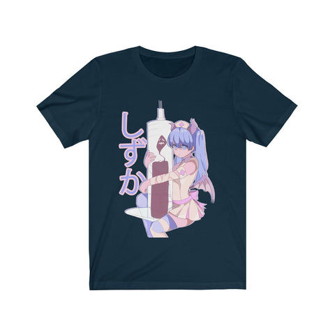 Image of Shizuka V2 Kawaii Anime Nurse - Creepy Cute - Unisex T-shirt