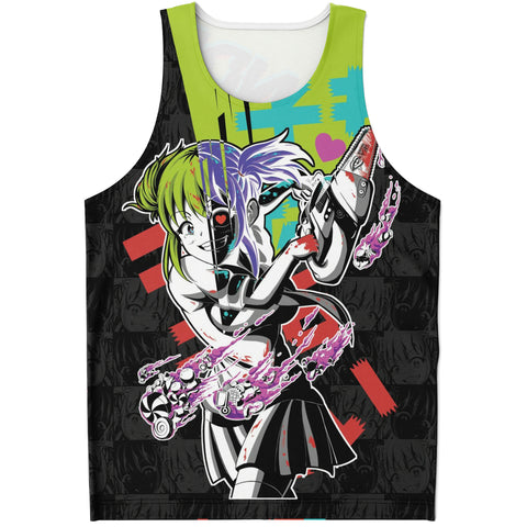 Image of Kandi Cute Yandere Anime Girl AOP Tank Top