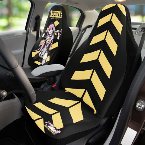 Image of Lucille Sexy Bad Anime Nun Anime Car Seat Cover (x2)