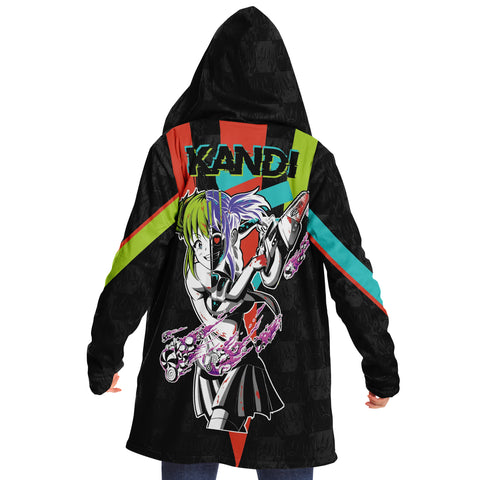 Kandi Cute Yandere Anime Girl Cloak