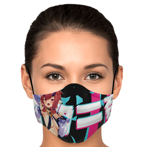Image of Katarina Anime Manga Waifu Face Mask