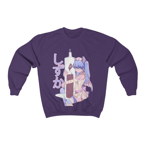 Image of Shizuka V2 Kawaii Anime Nurse - Creepy Cute - Unisex Sweatshirt