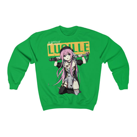Image of Lucille V2 Sexy Bad Anime Nun Sweatshirt