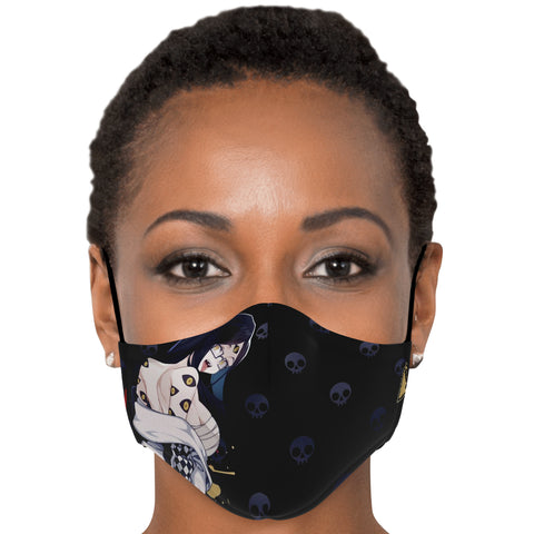 Image of Sehen Crazy anime girl face mask