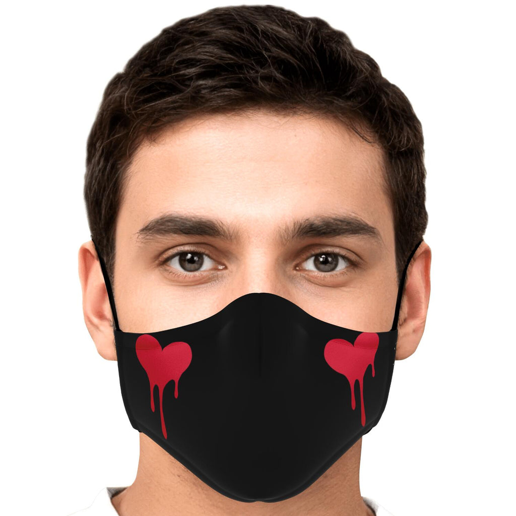Sumairu Heart Anime Face Mask