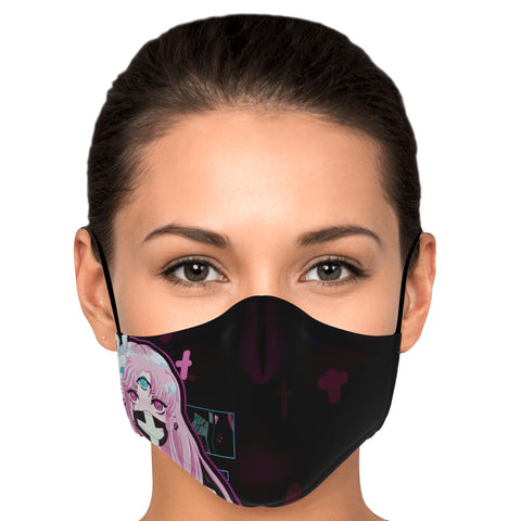 Maaya XP Creepy Cute Anime face Mask