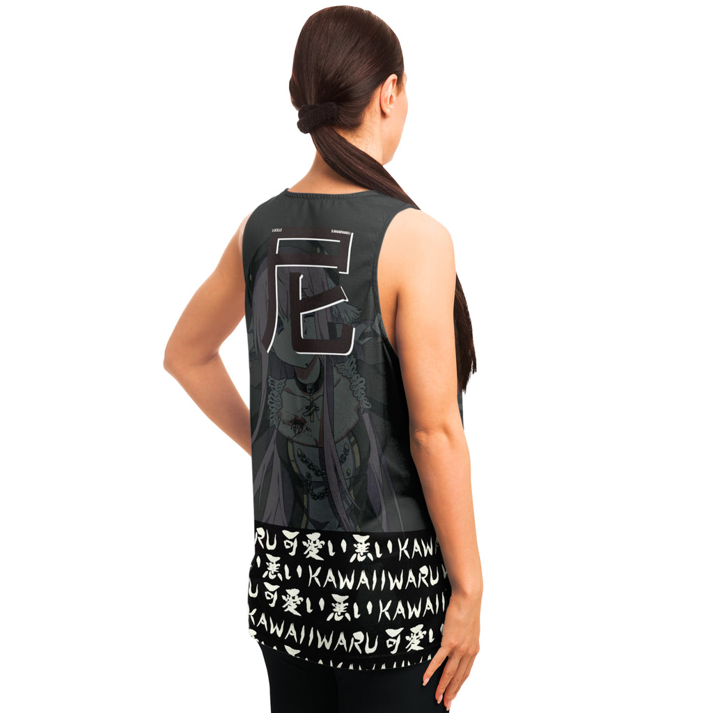Lucille Sexy Bad Anime Nun AOP Tank Top