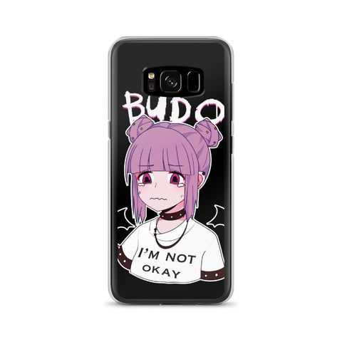 Budo Kawaii Sad Anime Girl Samsung Case