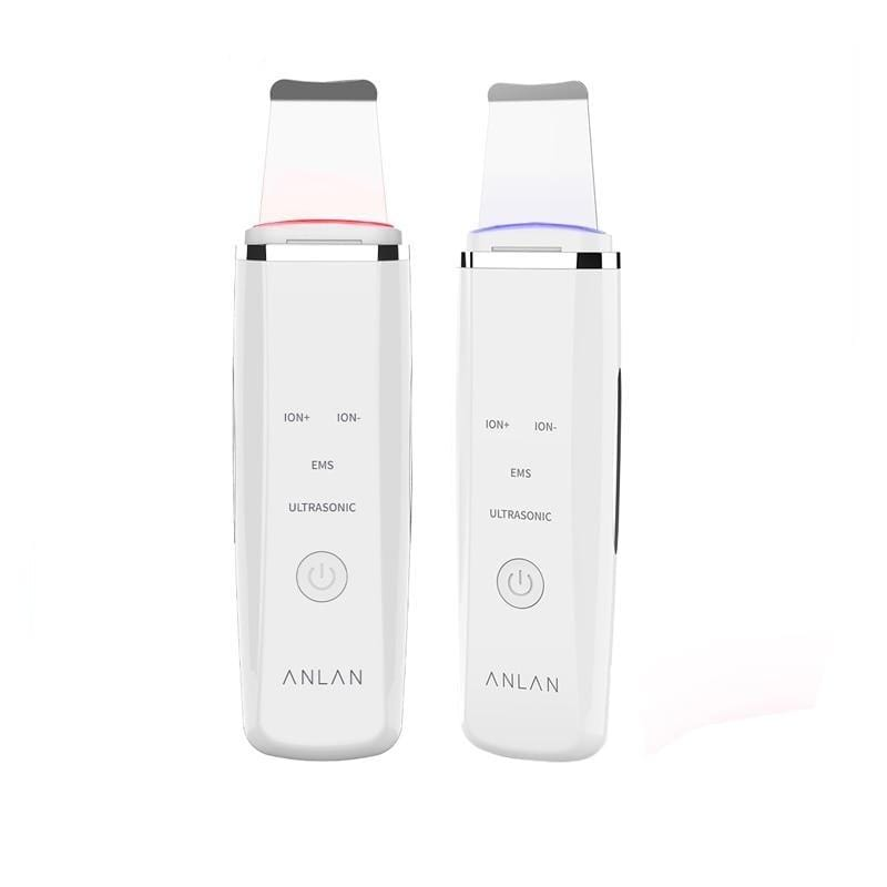 ANLAN LED Light Ultrasonic Skin Scrubber Facial Tools