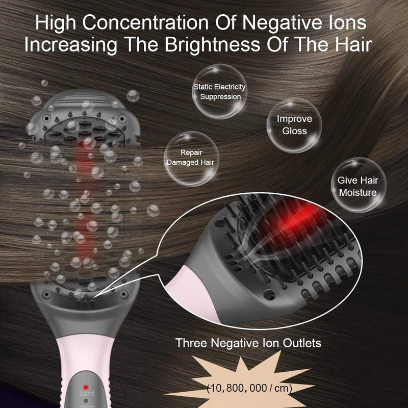 ANLAN Infrared Hair Brush (EU Plug) Hair Tools