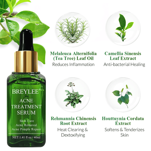 BREYLEE Acne Treatment Face Serum Cosmetics