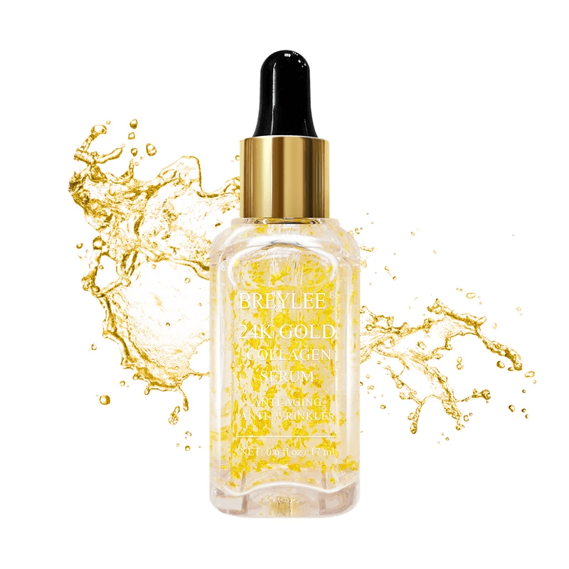 BREYLEE 24K Gold Collagen Face Serum Cosmetics