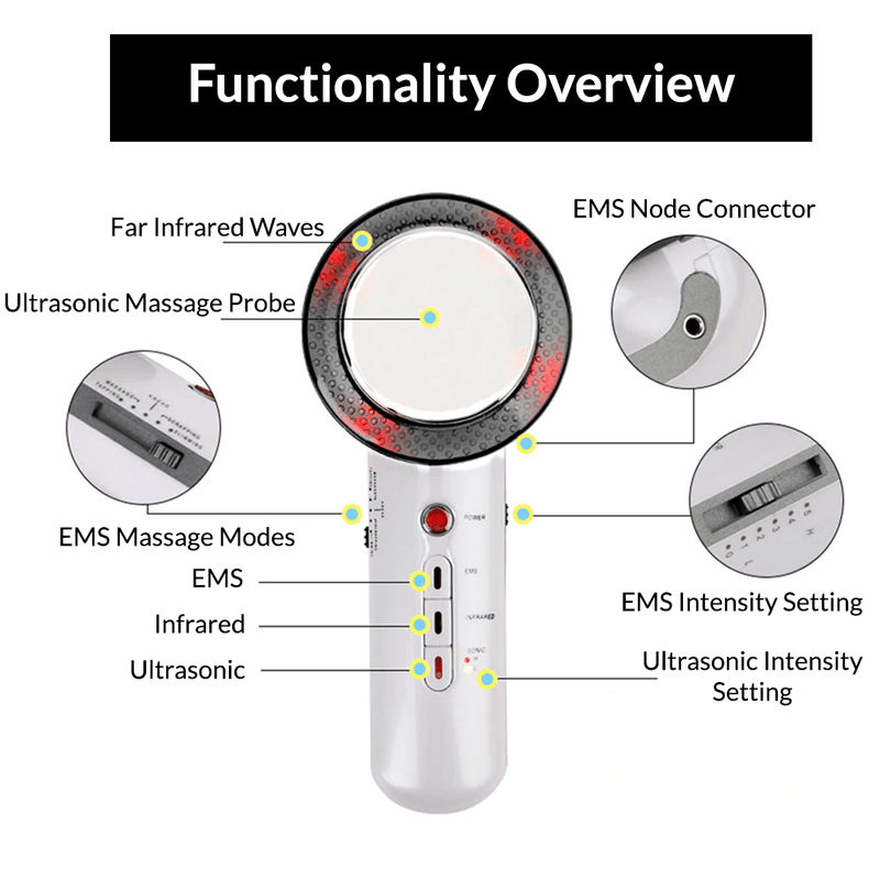Ultrasonic EMS Slimming Massager Body Devices